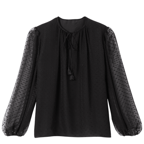 Blouse, Black/Ebony - View 2 of  2 -