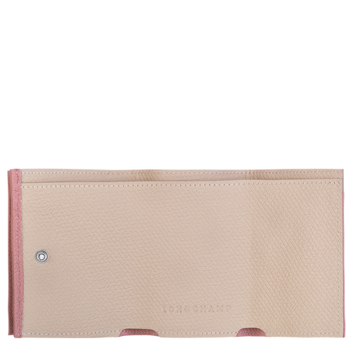 Brieftasche im Kompaktformat, Altrosa - Ansicht 2 von 2 -