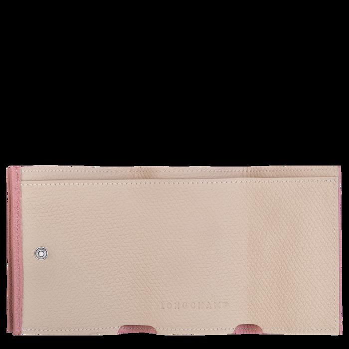 Brieftasche im Kompaktformat, Altrosa - Ansicht 2 von 2 - Zoom vergrößern