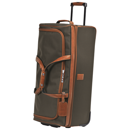 Wheeled duffle bag, Brown, hi-res - View 2 of 3