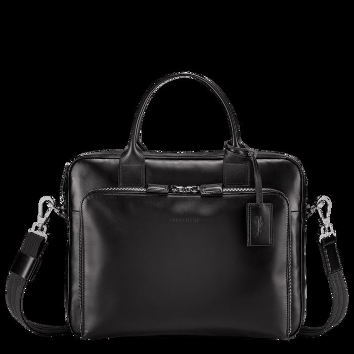 Briefcase S, Black/Ebony - View 1 of  3 - zoom in
