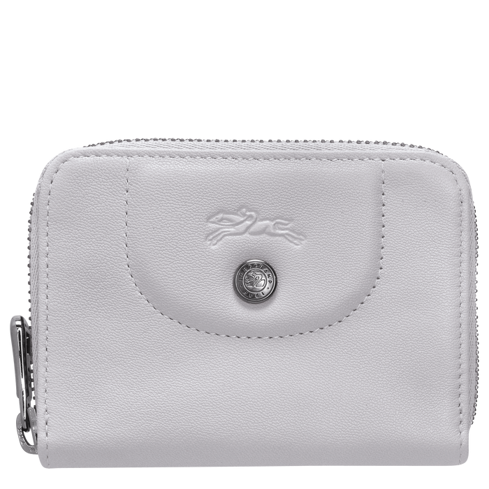 Zipped card holder, Grey, hi-res - View 1 of 2