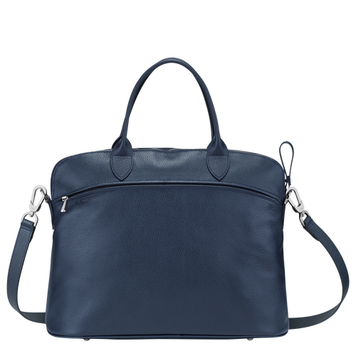 Top handle bag M, Navy - View 3 of  3 -