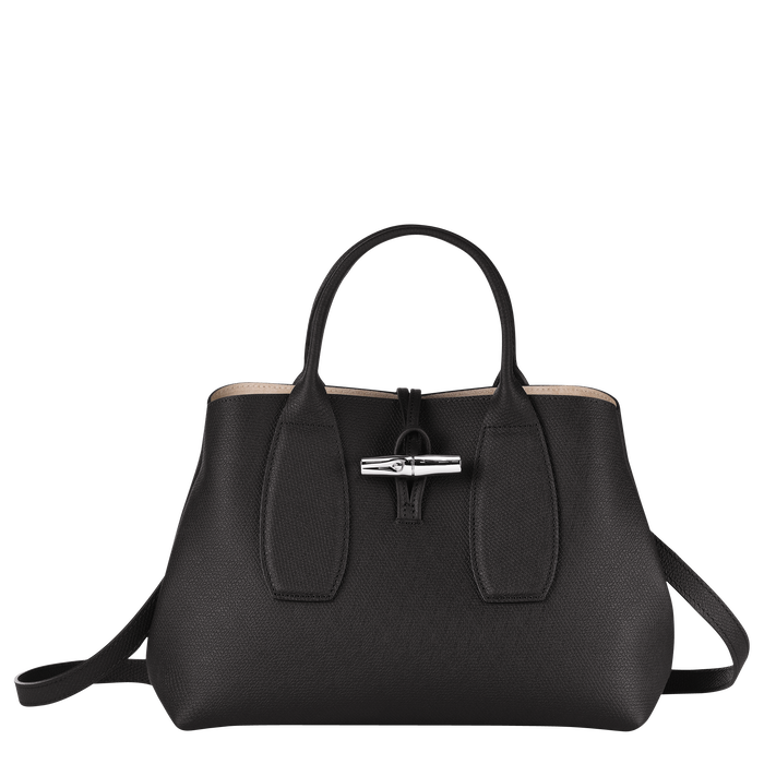 Top handle bag M, Black/Ebony - View 1 of  5 - zoom in