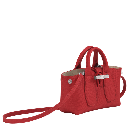 Top handle bag S, Red, hi-res - View 3 of 4