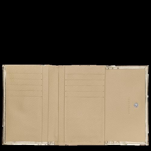 Portefeuille compact, Platine, hi-res - Vue 2 de 2