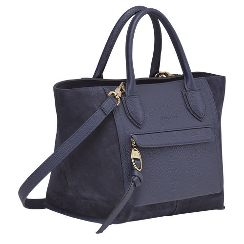 Top handle bag M, Navy - View 2 of  4.0 -