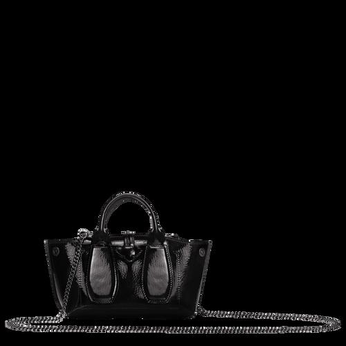 View 3 of Top handle bag S, Black, hi-res
