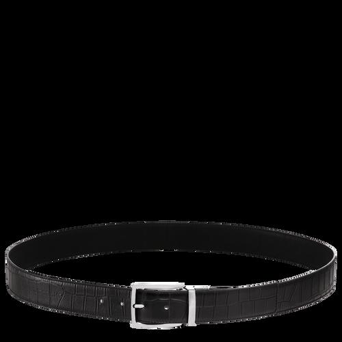 Men's belt, Black, hi-res - View 1 of 1