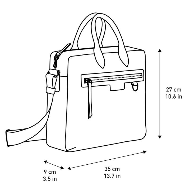 Briefcase, Black/Ebony - View 4 of 4 - zoom in