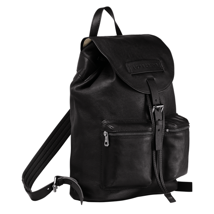 Backpack M, Black/Ebony - View 2 of  3 - zoom in