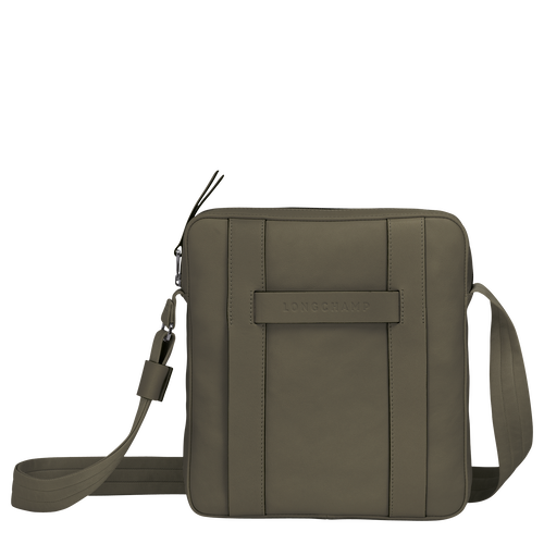 Longchamp 3D Bolso bandolera M, Caqui