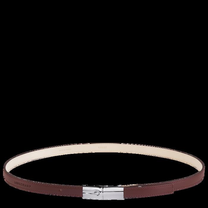 Damengürtel, Mahagoni - Ansicht 1 von 1 - Zoom vergrößern