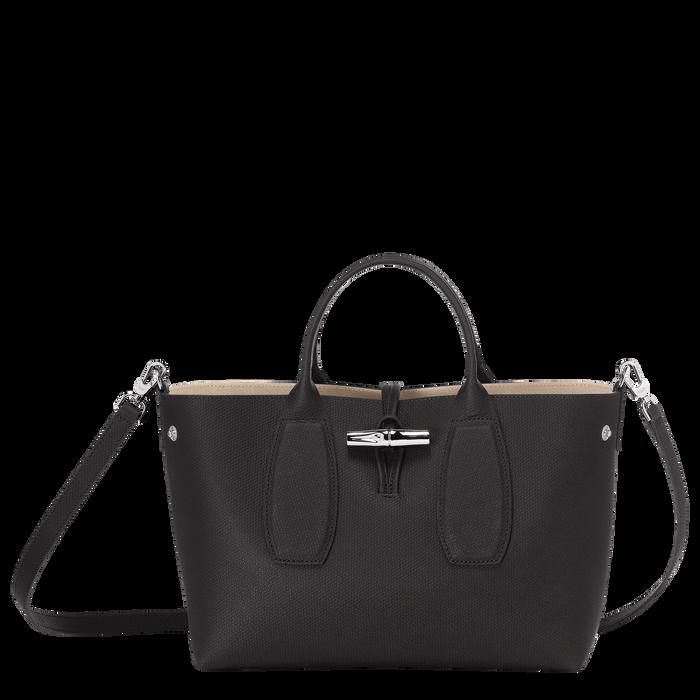 Top handle bag M, Black - View 2 of 5 - zoom in