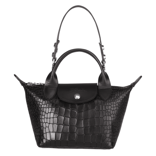 Exact Product: Le Mini Pliage Cuir, Brand: Longchamp, Available on: longchamp.com, Price: EUR355