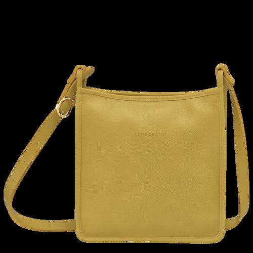Le Foulonné Zipped crossbody bag L, Mimosa