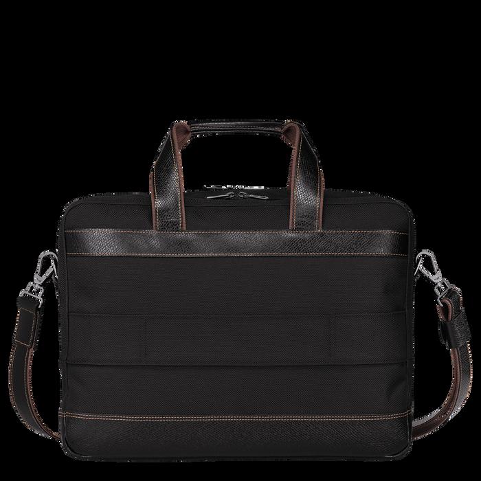 Briefcase L, Black, hi-res - View 3 of 3