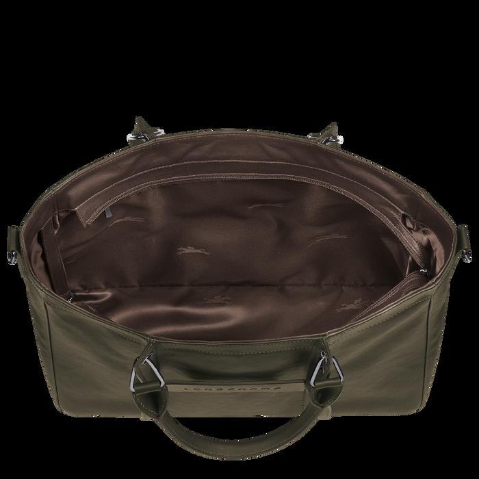 Longchamp 3D Top handle bag M, Khaki