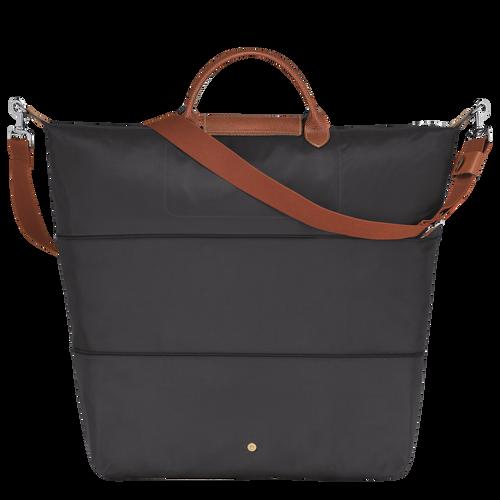 Travel bag, Gun metal, hi-res - View 3 of 4