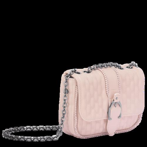 View 2 of Shoulder Bag XS, 550 Pale Pink, hi-res