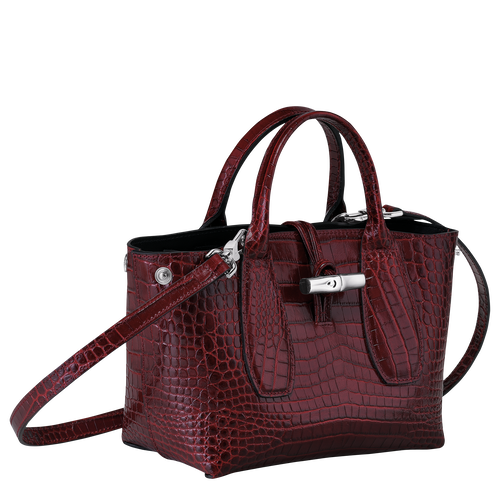 Top handle bag S, Burgundy - View 3 of  4 -