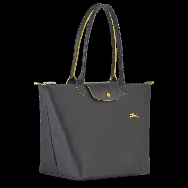 Shoulder bag L, Gun metal - View 2 of  5 - zoom in