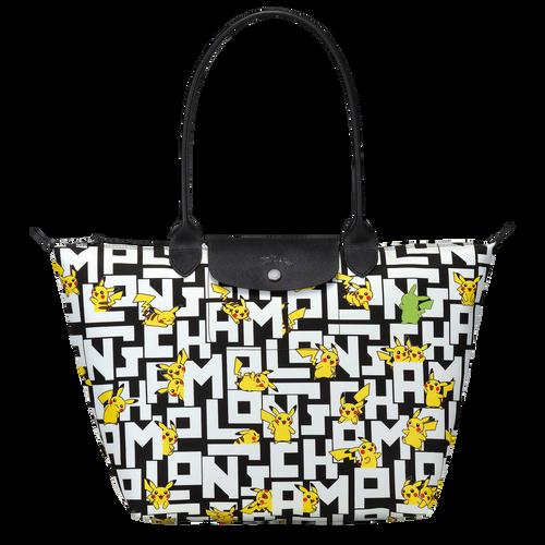 Shoulder bag L, Black/White - View 1 of  3 -