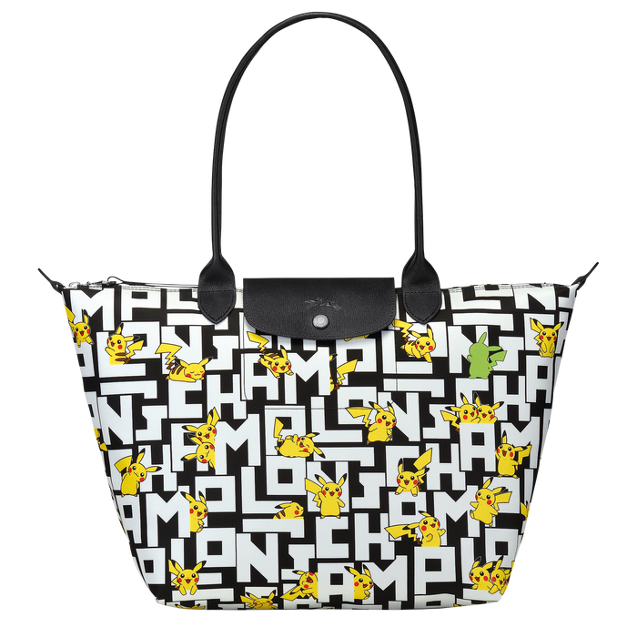 Shoulder bag L, Black/White - View 1 of  3 - zoom in