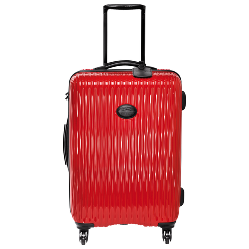 Wheeled suitcase, Red, hi-res - View 1 of 3