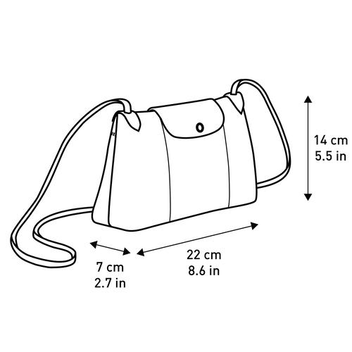 Crossbody bag, Navy - View 5 of  5 -