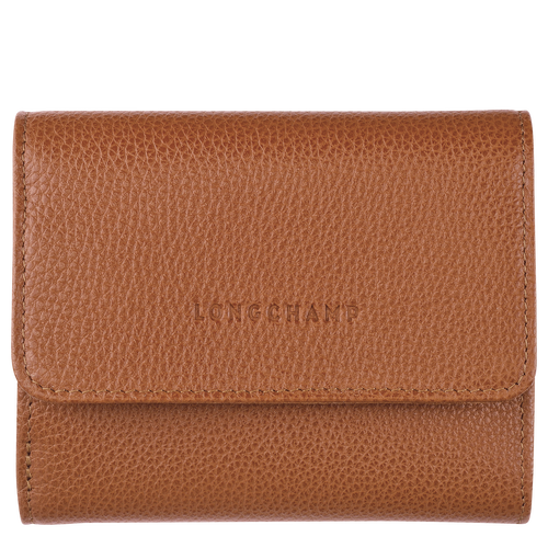 Compact wallet, Caramel - View 1 of  2 -
