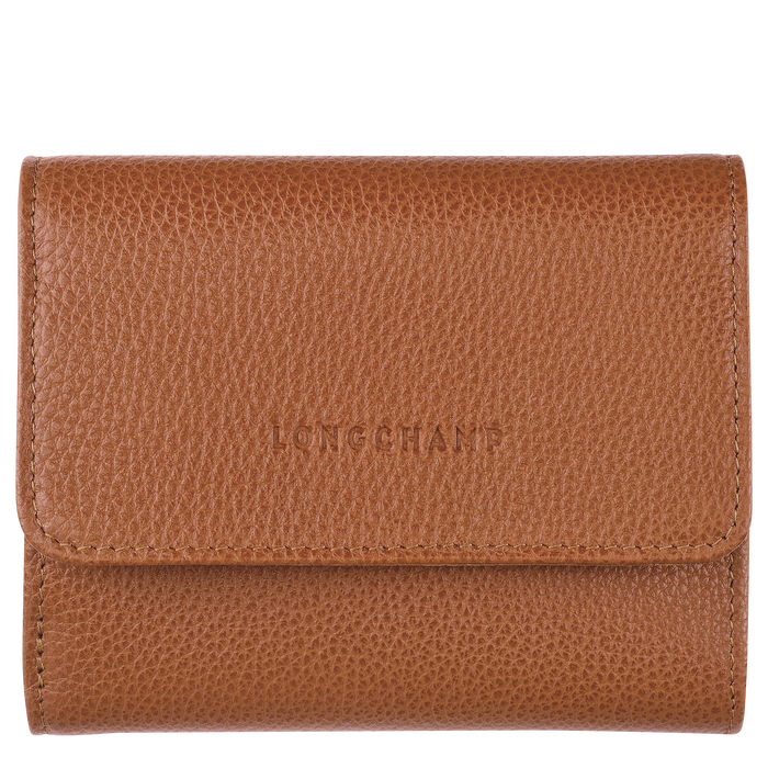 Compact wallet, Caramel - View 1 of  2 - zoom in