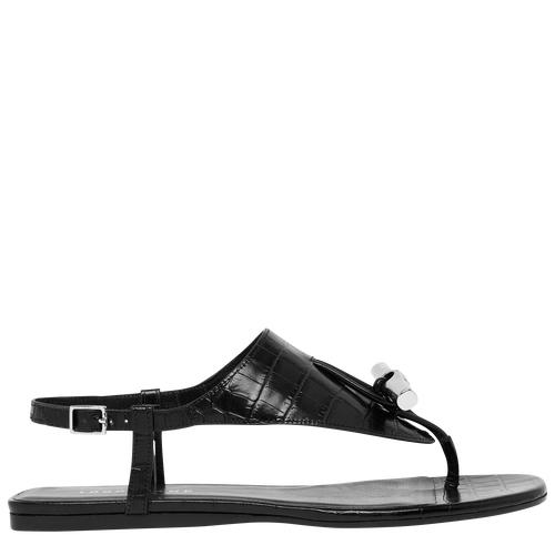 Flat sandals, Black - View 1 of  3 -