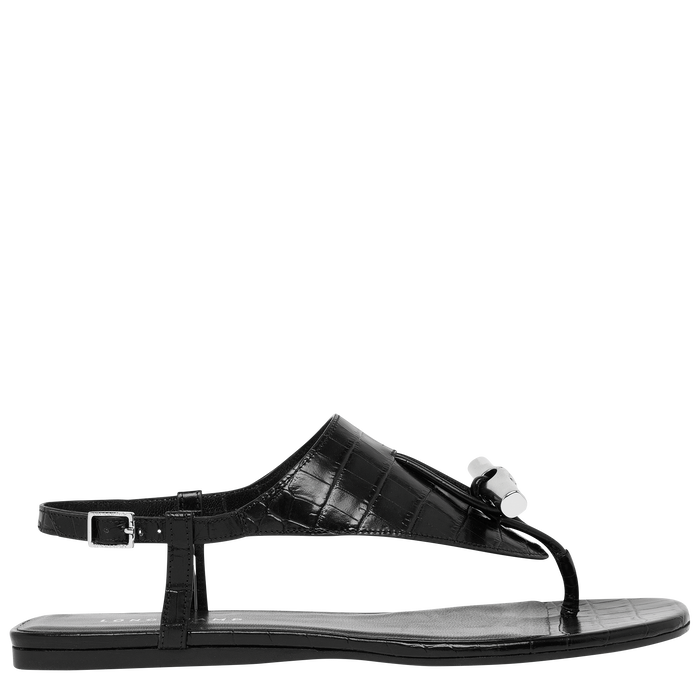 Flat sandals, Black - View 1 of  3 - zoom in