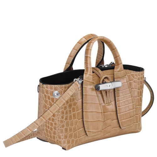 Top handle bag XS, Sand - View 2 of 4 -