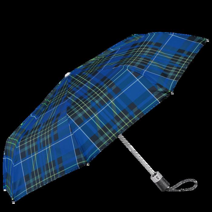 Parapluie mat rétractable, Bleu - Vue 1 de 1 - agrandir le zoom