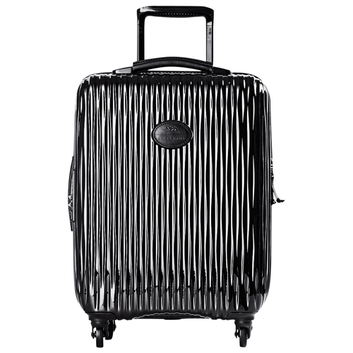 Small wheeled suitcase, Black, hi-res - View 1 of 1