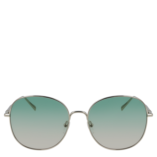 View 1 of Sunglasses, Gold Green, hi-res