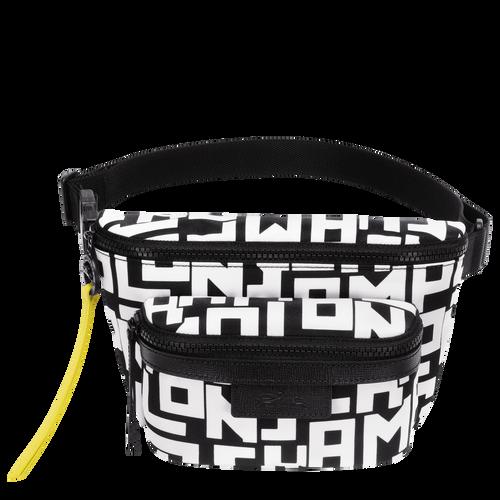 Belt bag M, Black/White - View 1 of  3 -