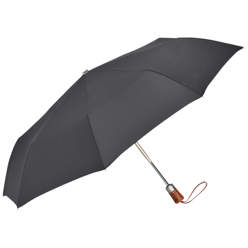 Parapluie homme Retractable umbrella, Gun Metal