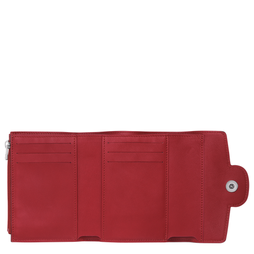 Compact wallet, Garnet red, hi-res - View 2 of 2