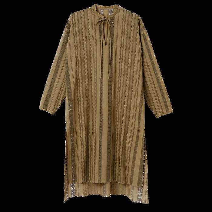 Collectie voor Lente/Zomer 2021 Midi-jurk, Kaki
