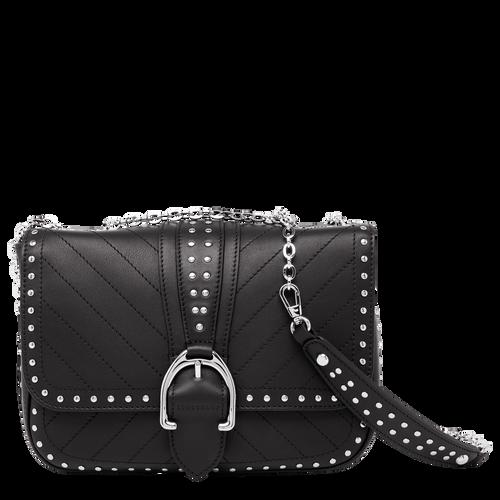 Hobo bag S, Black, hi-res - View 1 of 3