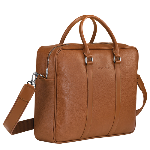 Briefcase M, Caramel - View 2 of 3 -