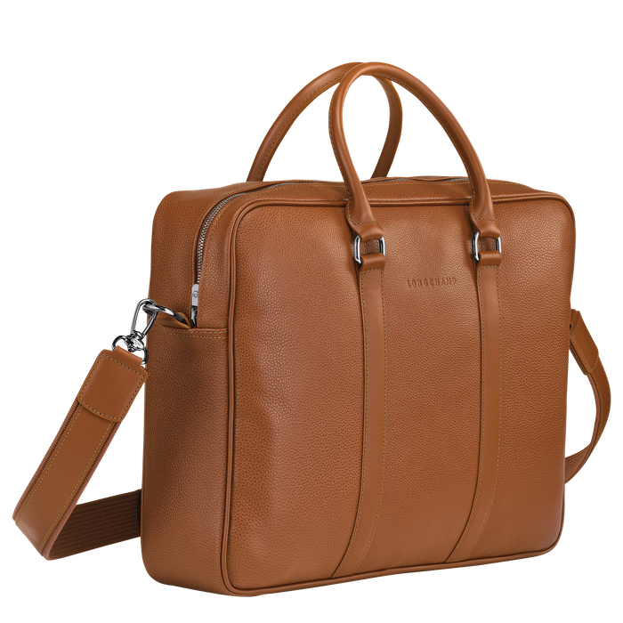 Briefcase M, Caramel - View 2 of 3 - zoom in