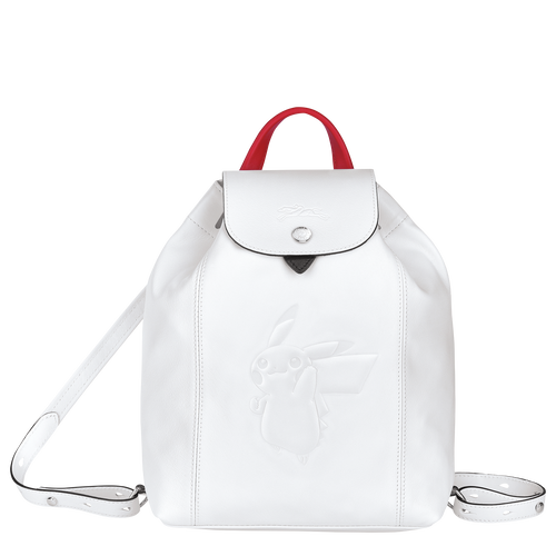 Backpack, White - View 1 of  3 -