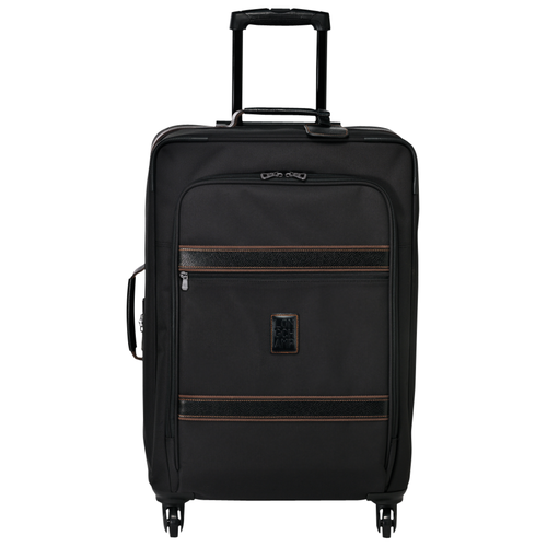 View 1 of Wheeled suitcase M, 001 Black, hi-res