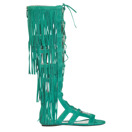 Flat sandals, D91 Emerald, hi-res