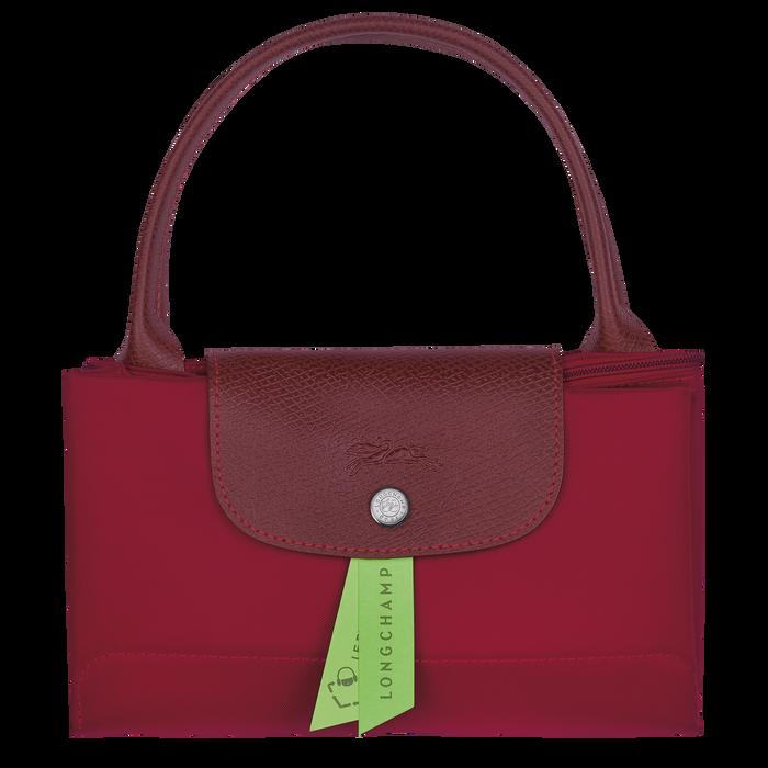 Le Pliage Green Sac porté main M, Rouge
