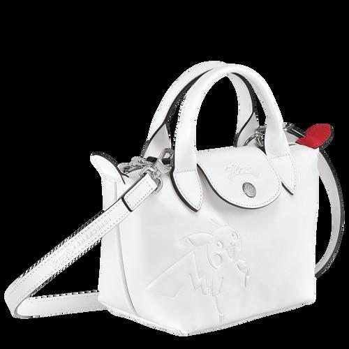 トップハンドルバッグ XS, ホワイト - ビュー 2: 3 -